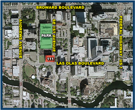 Map Image of the Fort Lauderdale Forum Meeting Location